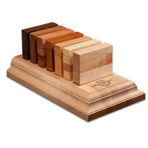 butcher block wood type n seven species sle tray