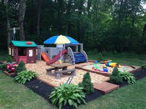 backyard play area new house projects ideas pinterest