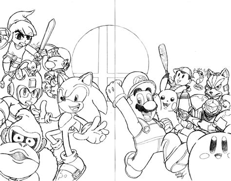 smash bros coloring pages coloring pages