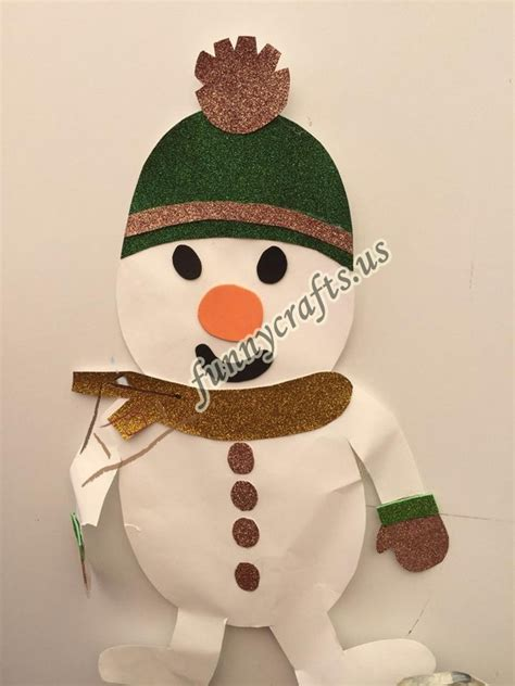 snowman craft projects snowman craft ideas funnycrafts