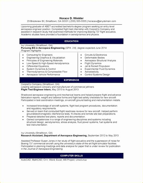 resume exle engineer cover letter aeronautical engineer 28 images boeing