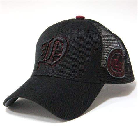 embroidered quot d quot logo summer trucker hat baseball cool mesh