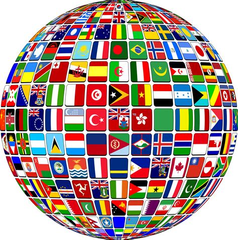 flags of the world clipart clipart world flag buttons globe