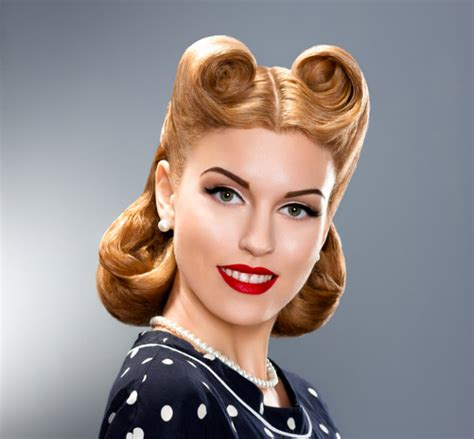 how to pin up hair 8 easy retro hair tutorials for aspiring pin up girls
