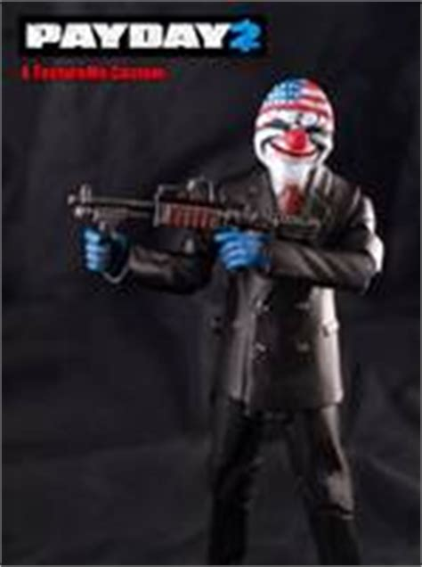 payday 2 figures payday 2 dc universe custom figure