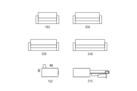 altezza divani divano letto trapuntato in velluto douglas