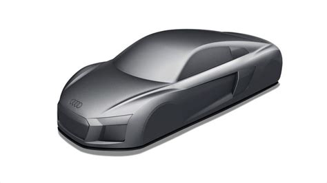 Mouse Wireless Audi audi r8 touch computer mouse