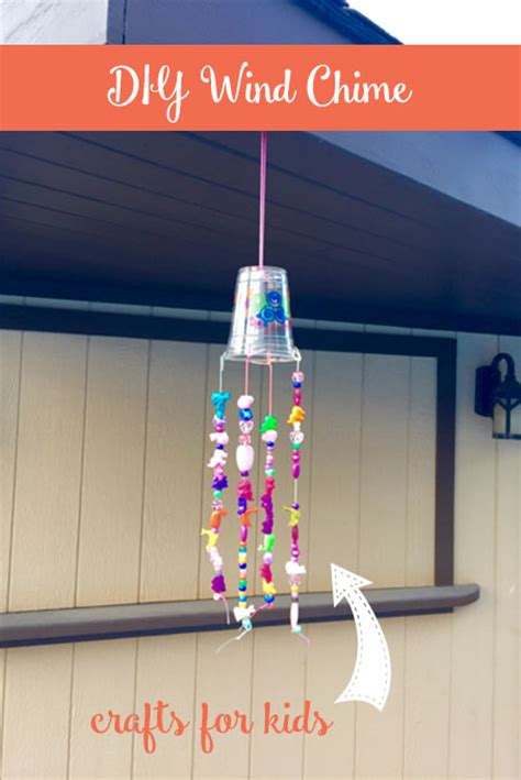 wind crafts for diy beaded wind chime the inspired home