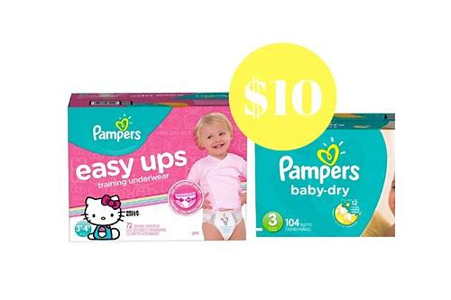 printable coupons for pampers baby dry diapers