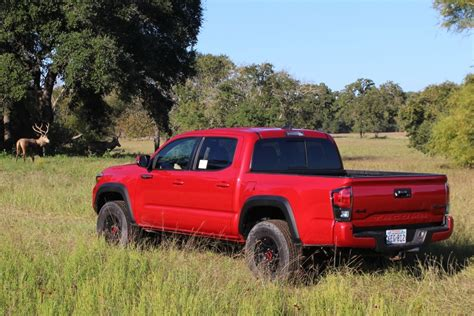Toyota Mid Size Truck 2017 Toyota Tacoma Trd Pro Named Mid Size Truck Of