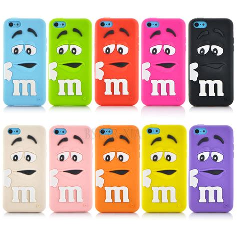 Iphone 4 4s Soft Jelly Colorful Donut Donat Casing Cover Bumper buy wholesale rainbow phone cases from china