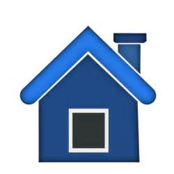 Home Blue Home Icon 5 Clip Art At Clker Com Vector Clip Art Online