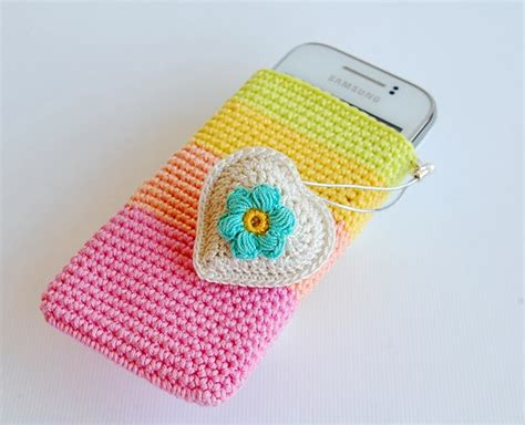 crochet pattern phone bag crochet cell phone pouch