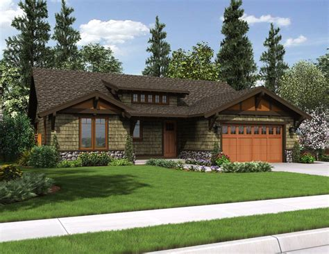 Home Design 1 Story by Best Single Story Cottage Style House Plans Ideas House