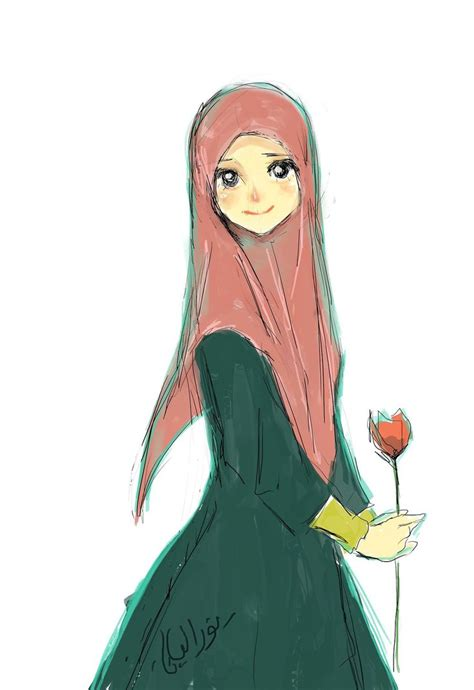 wallpaper animasi hijab 1000 images about islam cartoon on pinterest cartoon