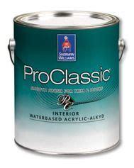 proclassic 174 interior waterbased acrylic alkyd enamel is a