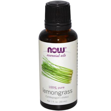 Essential Oils by Now Foods Essential Oils Lemongrass 1 Fl Oz 30 Ml