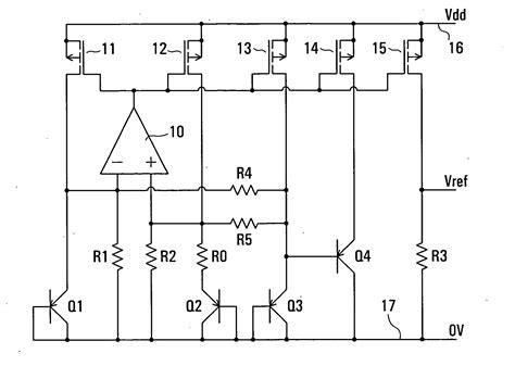 integrated circuits and components for bandgap references and temperature transducers patent us20060043957 resistance trimming in bandgap reference voltage sources patents