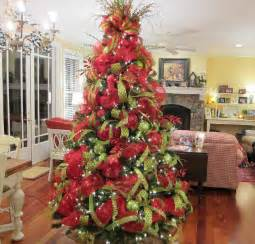 deco mesh christmas tree ladybug wreaths by nancy alexander