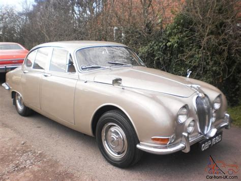 classic 1966 jaguar s type 3 8 manual overdrive