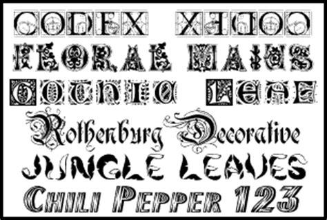 decorative styles ealoha fonts font utilities