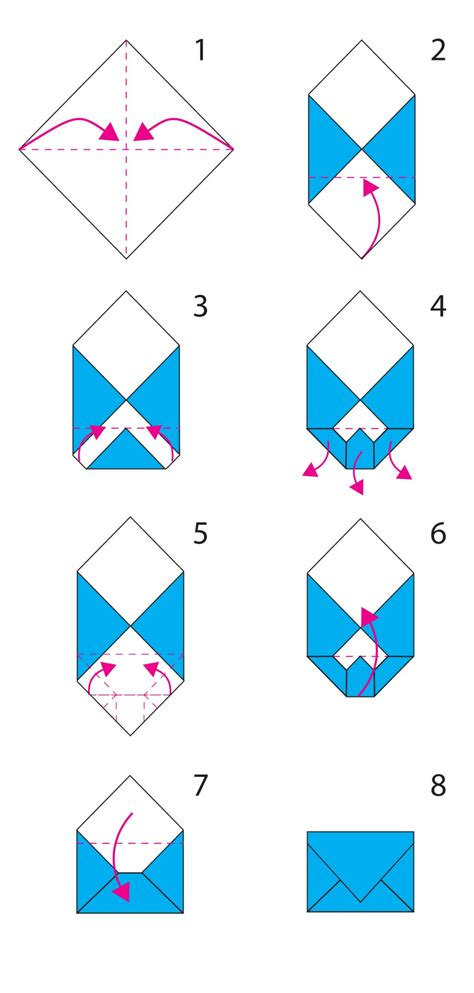 How To Make An Envelope From Paper In Steps - origami envelope cerca con origami boxes
