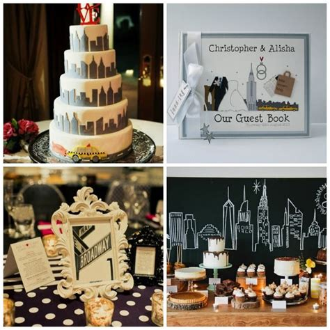 the news new york themed wedding styling and moodboard uk wedding wedding ideas