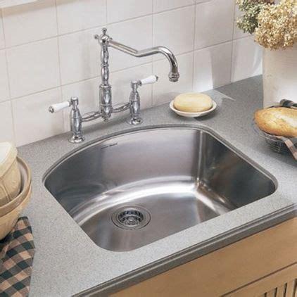 D Shaped Kitchen Sink D Shaped Sink With Bridge Faucet Kitchen