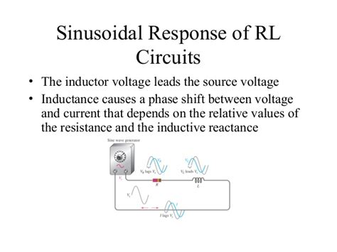 inductive reactance rl circuit inductive reactance objectives 28 images chapter 12 rl circuits ppt ppt reactance