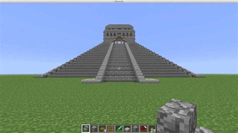 Free House Blue Prints Minecraft Map Mayan Temple Download Youtube