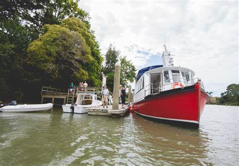 red boat fishing charters auckland ferry trips to the riverhead historic tavern on auckland