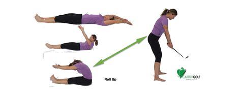 Black Roll Posture. Roll Up For Better Golf Posture