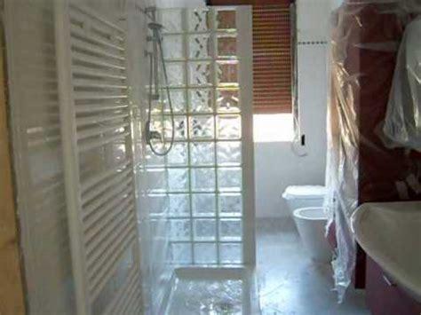 box doccia vetrocemento bagno con doccia in vetro cemento