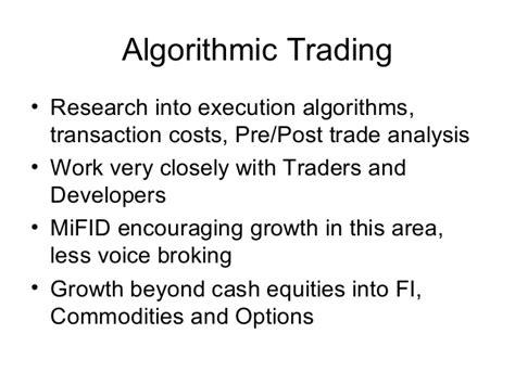 Algorithmic Trader Cover Letter by Algorithmic Trader Resume Forex For Dummies Free Ebook