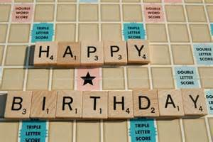 scrabble happy birthday card by tagliatela on etsy