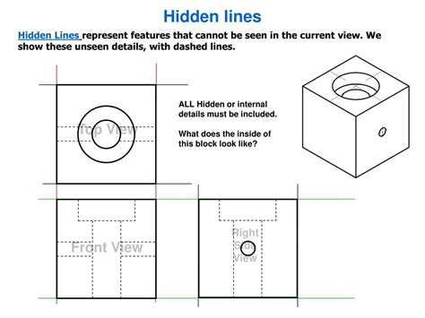 Are Hidden Lines Shown In A Section View 28 Images