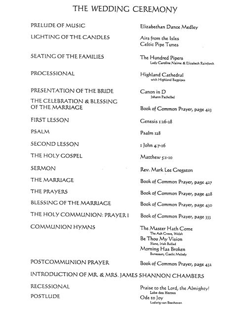 Wedding Reception Order by Wedding Reception Order Of Events Sles Order Of Events