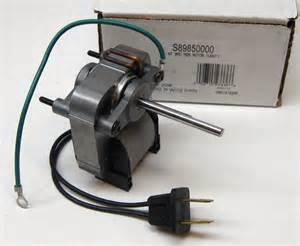 nutone bathroom fan motor replacement 89850000 broan nutone bath fan vent motor c 89850 sp 61k16