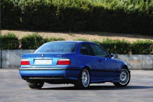 the bmw e36 m3 being on the track