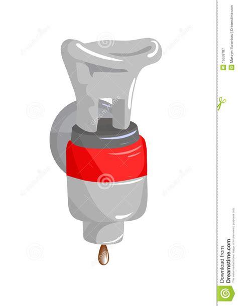 rubinetto in plastica rubinetto di plastica illustrazione vettoriale