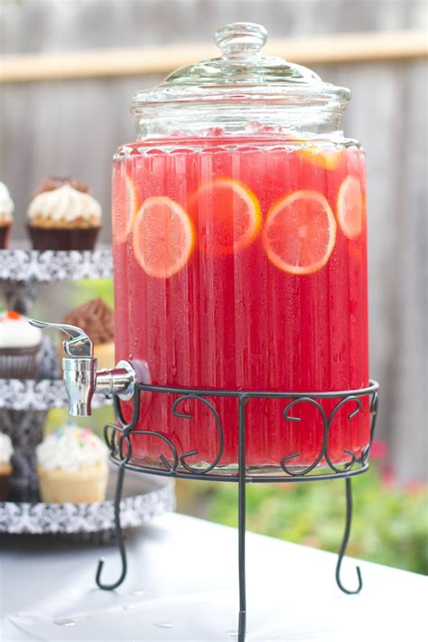 non alcoholic punch recipes for wedding showers our reflection pink lemonade sparkling fruit punch
