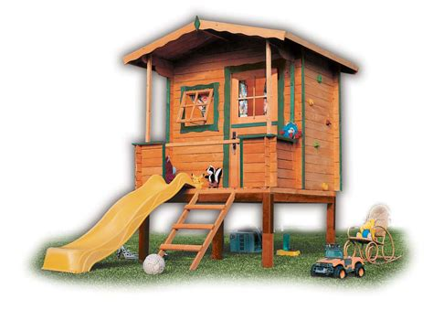 playhouses for backyard wood outdoor playhouses for girls and boys from green house kidsomania