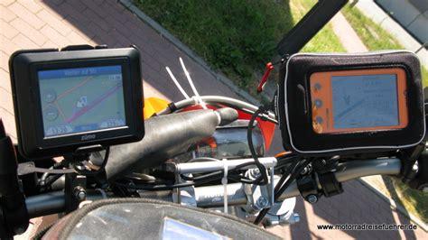 Navi Vergleichstest Motorrad by Crossover Navi Vergleich Motorradreisefuehrer De
