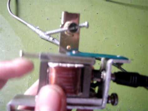 homemade tattoo machine machine from scrap