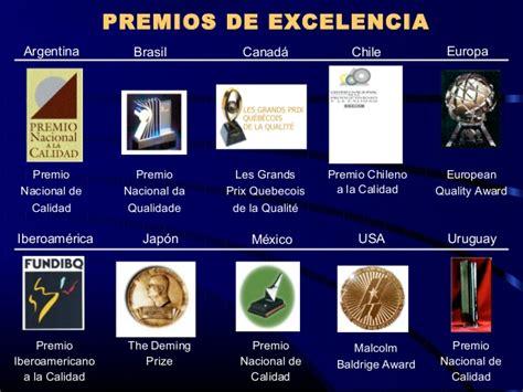 antecedentes premio nacional de calidad calidad total en procesos