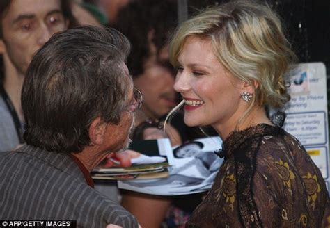 Kirstens Opens Up by Kirsten Dunst Stopped By As She Leaves Melancholia