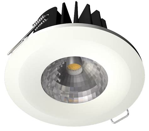 Downlight Led 8w 8w cob led downlight dimmable 3000k white bezel