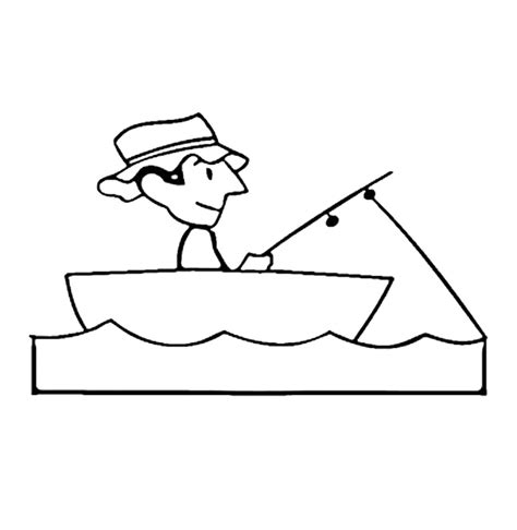 Boat Coloring Boat Coloring Page