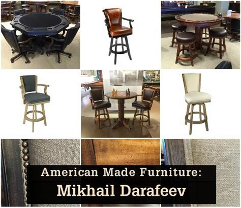 American Made Furniture Manufacturers by Entertaining Design