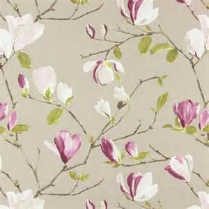 Colefax Fowler Upholstery Fabrics Sayuri Fabric Mulberry 5981 314 Prestigious Textiles